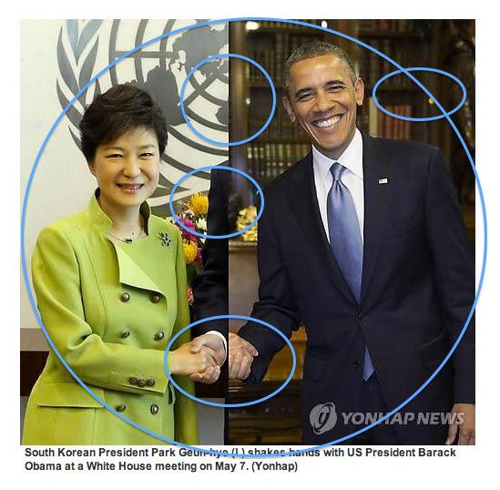 大統領握手の合成写真に対する韓国側のコメントwwwwwwwwwwwww