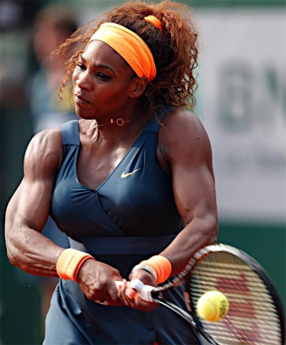 【画像】セリーナ・ウィリアムスちゃんの筋肉wwwwwwwwwwwwww