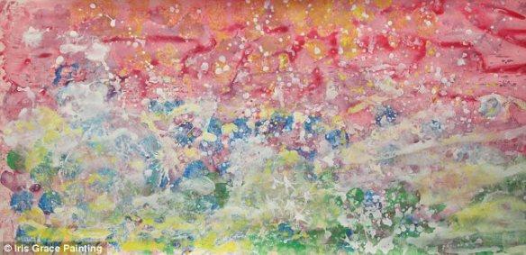 【画像】自閉症の子が描いた絵が£800(約12万円)に・・・そんな事より幼女可愛い