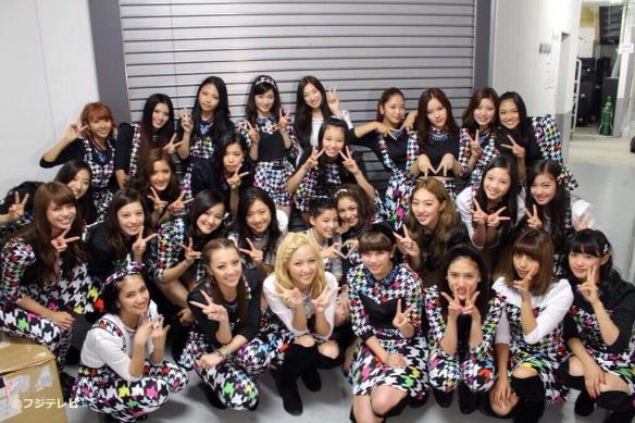 【画像】EXILEの妹分、「E-girls」というグループの破壊力が物凄いwwwwwww