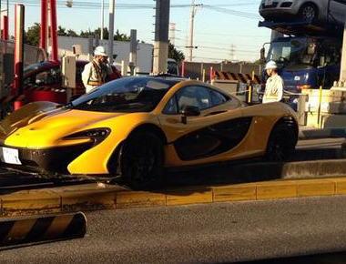 千葉の高速料金所でマクラーレンP1が突っ込む事故(画像) 限定375台生産でお値段約1億円