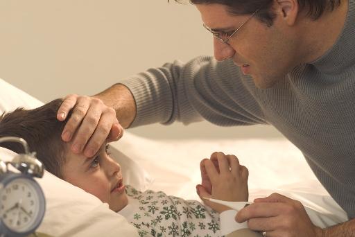 一週間ウィルス性胃腸炎で寝込んだ子供に