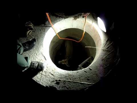 浄水場のろ過装置に弟が落ちた。作業員達あきらめムードの時に親父が到着