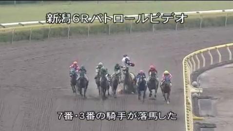 【競馬】 藤懸の落馬がマジでヤバイ件