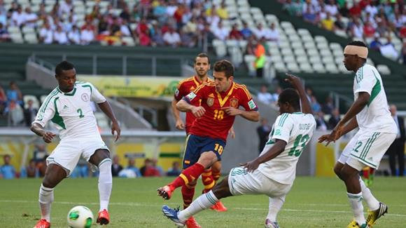 【コンフェデ杯】ナイジェリア×スペイン、ウルグアイ×タヒチの結果(動画)