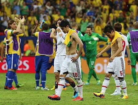 長友佑都「中学生とプロのレベルだった。日本代表の選手でブラジル代表に入れる選手は一人もいない」