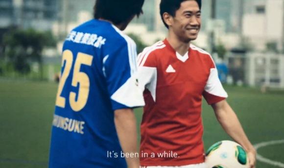 「中村俊輔×香川真司」 日本代表新旧10番対談動画をアディダスが公開