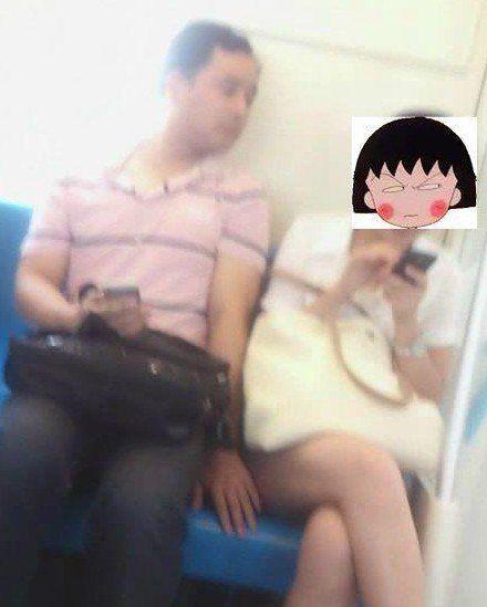 【衝撃】ちびまる子ちゃんが電車で痴漢されている画像が流出