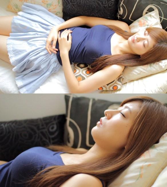 【Berryz工房】もしも自分のベッドに熊井ちゃんが寝ていたら