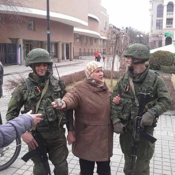 【画像】ロシア軍がクリミア半島に侵攻した結果wwwwwwwwwww