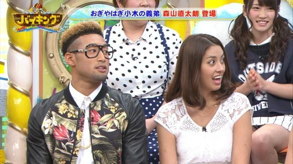 【画像あり】AKB48 川栄李奈ちゃん(19)が生放送のフジテレビ「バイキング」でパンチラキタ━━━━(゚∀゚)━━━━!!
