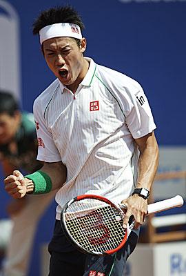 【速報】 テニスの錦織圭がバルセロナオープンで優勝キタ━━━━(゚∀゚)━━━━!!