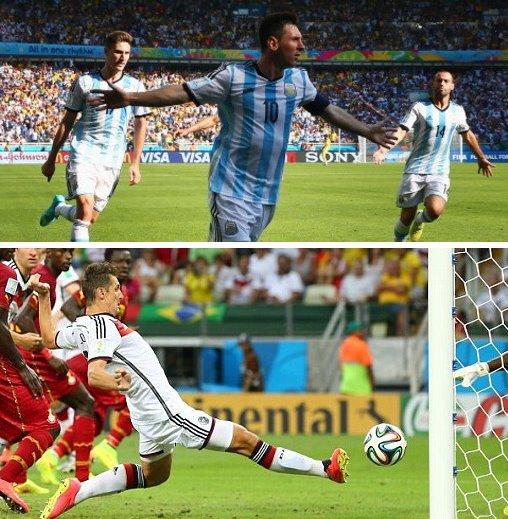 【動画ハイライト】ドイツ対ガーナ、アルゼンチン対イラン、ボスニア対ナイジェリア