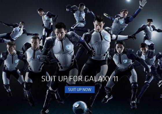 サムスン、メッシやクリロナなどスター選手を起用した「GALAXY 11」というSF動画を公開