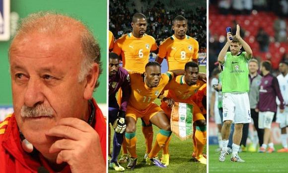 【親善試合】スペインVSボリビア、イングランドVSペルー、コートジボワールVSボスニア、ウルグアイ、他