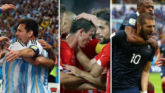 【W杯ハイライト】 アルゼンチン対ボスニア、フランス対ホンジュラス、スイス対エクアドル