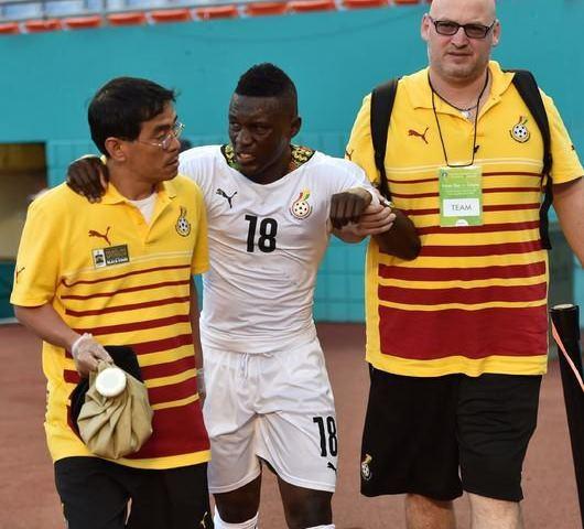 ガーナ代表FWワリス、韓国代表キ・ソンヨンの削りによりW杯欠場の可能性