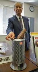 石焼のイモを家庭で…群馬の会社会長(80)が2年かけ開発