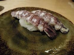 寿司屋でシャコを11連続で注文したら怒られたんだが