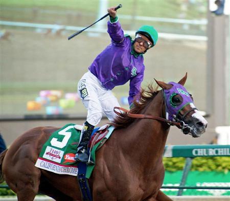 【競馬】 米2冠馬カリフォルニアクローム、来日か? 12月のチャンピオンズCに出走の可能性