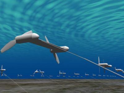 海中に係留したローターを海流の力で回転させ発電 … IHIと東芝「海流発電システム」の実証実験に挑戦、NEDOとの共同実験で1メガワットの出力を目指す