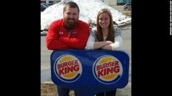 バーガーさんとキングさんが結婚