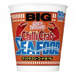 日清カップヌードル新商品「チリクラブシーフード」 13日発売