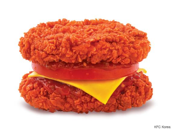 韓国KFCの「ダブル・ダウン」は超激辛! 君の食道を焼き焦がす