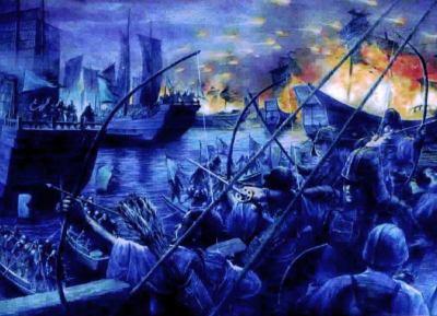 韓国の大学教授 「白村江の戦いで韓国人は侵略に立ち向かう気迫といった『風』の特性を持つようになり、日本は征服を正当化する『火』の精神を育んだ」