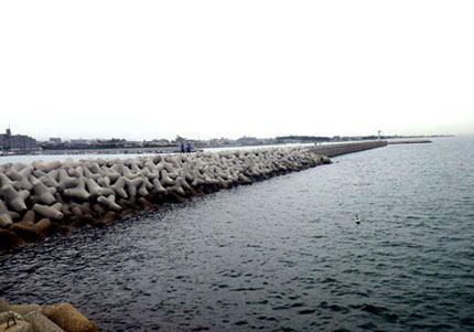 友人の結婚式用のビデオ撮影、下着姿で自転車に乗って海へダイブ → 行方不明になっていた2人目の会社員・福田達也さん(24)、釣り客が遺体を見つける - 兵庫・明石