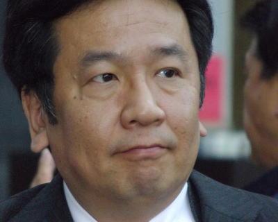 評論家・枝野幸男氏(民主党・幹事長)「株価2万円台、株を持っていなくても何となくいい気分になり、下がるより上がった方がいい。そのこと自体は大変結構」