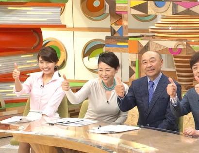 ついに視聴率1%台、先月スタートしたフジ・安藤優子(56)の新番組『直撃LIVEグッディ!』、順調に視聴率下げ苦境