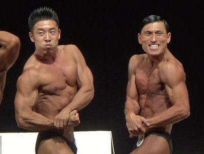 オードリー・春日俊彰(36) 「東京オープンボディビル選手権」の75kg級に出場、5位入賞を果たす … 同級にお笑いタレント・なかやまきんに君(36)も初出場し2位に(画像)