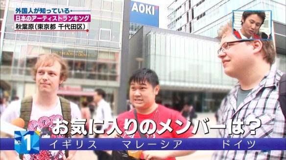 【朗報】外国人に一番知られている日本のアーティストは『AKB48』らしいぞwwwwwwwwww