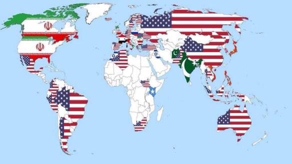 世界中の人々に「どの国が一番脅威だと思う?」って聞いてみた結果wwwwwwwwwwww