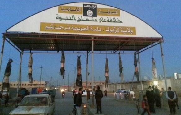 【閲覧注意】地獄へようこそ ISISシティへの入り口はイラク軍の死体がお出迎え・・・・・・(画像あり)
