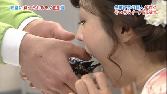【速報】水トちゃんカブトムシの生食いに成功wwwwwwwwwwww(画像あり)