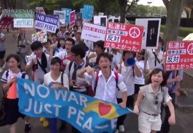 「少なくとも全体で3000人居た」 … 有田芳生議員、お仲間の共同通信が「高校生デモに300人」と報道した事に怒る