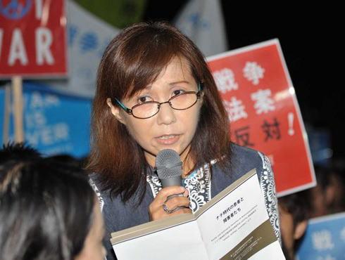 香山リカ氏(55)SEALDsの集会にてナチスを例に安倍総理を精神分析しなぜか勝利宣言 「謝罪できない安倍首相たちは恐れている。ここまで追い込めたからもう既に勝っている。大勝利」