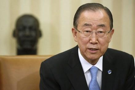 朝鮮人の扱いに長けている中国、抗日戦争勝利パレードに参加した潘基文国連総長を、国連から逮捕状が出ているバシル大統領と同席させる