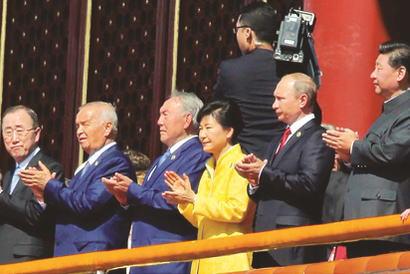アメリカ「ブルーチームに居た人がレッドチームに居る」 朴大統領の戦勝記念式典への出席を深刻に受け止め、不快感を示す