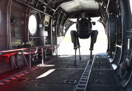 軍用犬型ロボット「Big Dog」の最新バージョン『スポット』、機敏・静音になって遂に米海兵隊による実地テストへ (動画) … 開発元はグーグル社に買収、グーグルドッグと呼ばれる