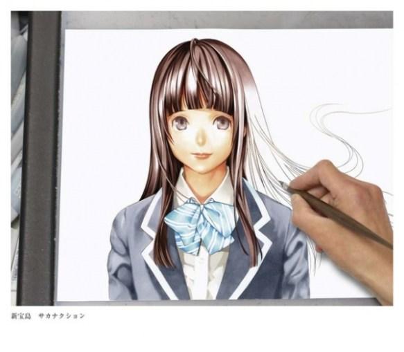 【朗報】小畑健先生が本気絵を描いて劣化したと騒ぐアホどもを黙らせる