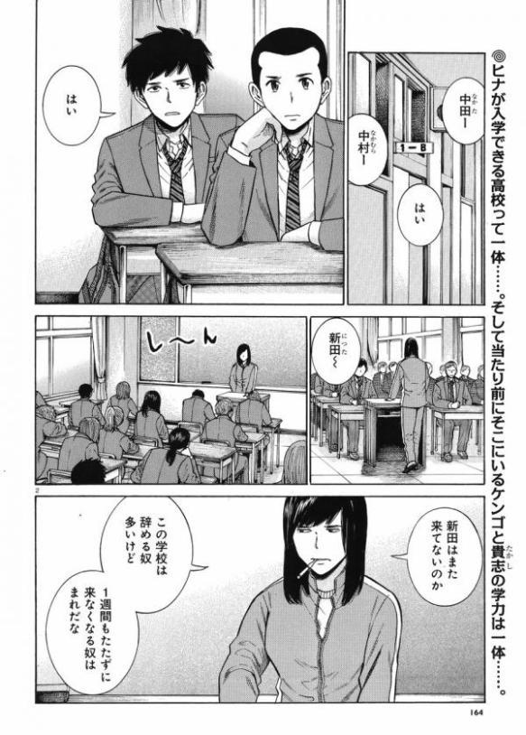 【画像】漫画『ヒナまつり』の最近の展開悲しすぎワロタwwwwwww