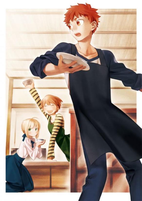 【朗報】Fateのグルメ漫画が爆誕wwww士郎が自慢の手料理をセイバーに振る舞う