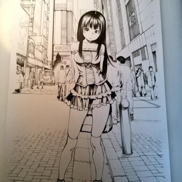 【朗報】亜人作者、ツイッターでH漫画のメイキングを載せるwwwwwww