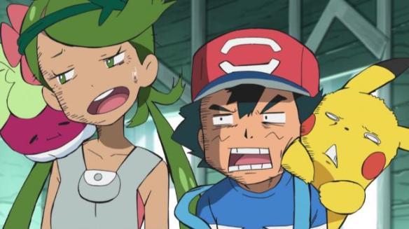 【画像】アニメポケサンムーン、サトシさん早速変顔を披露しまくるwwwwでもヒロインたちは可愛いwww