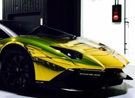 GACKT(42)が所有していたランボルギーニ・アヴェンタドール、中古車サイトに掲載(画像) … お値段は約6000万円