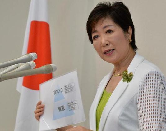 自民・小池百合子元防衛相が出馬表明 「韓国学校は白紙にする」