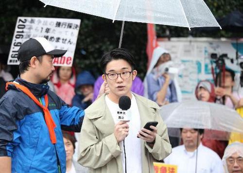 SEALDs幹部「武力ではなく対話による安全保障で日本の対東アジア外交は大きく変わる」